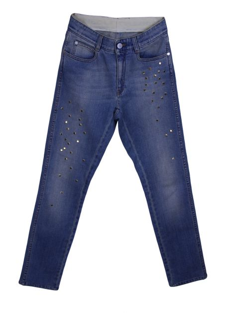 Calça Stella McCartney The Skinny Boyfriend Stars Jeans