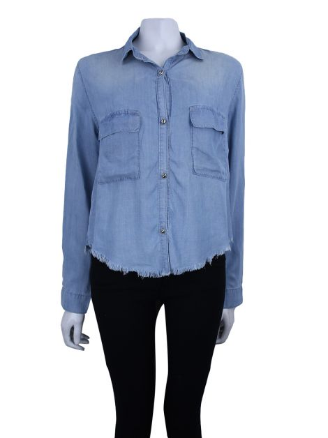 Camisa Bo.Bô Denim Destroyed
