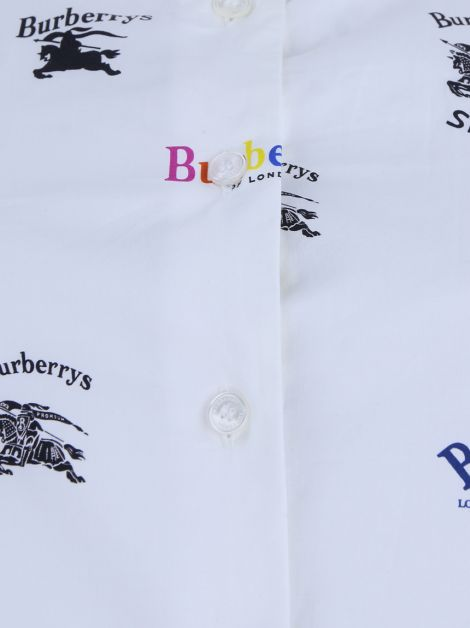 Camisa Burberry Logo Mix