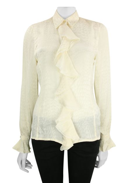 Camisa Escada by Margaretha Lev Seda Off white