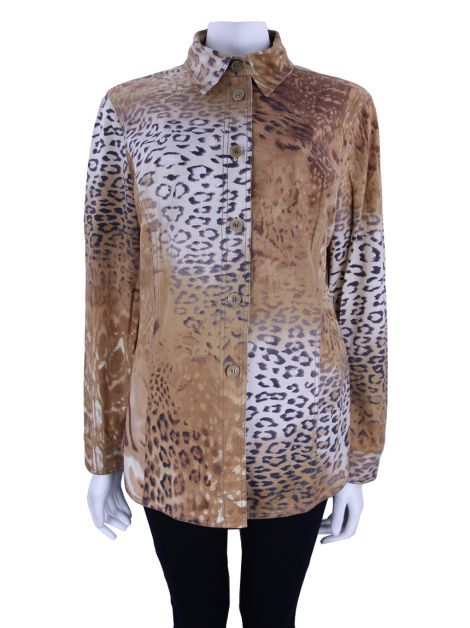 Camisa Gianfranco Ferre Animal Print
