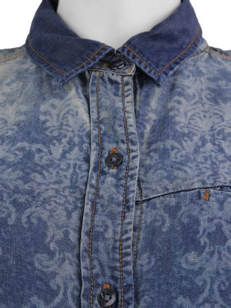Camisa Seven For All Mankind Lyocell Estampada