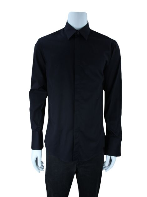 Camisa Versace Collection City Preta Masculino