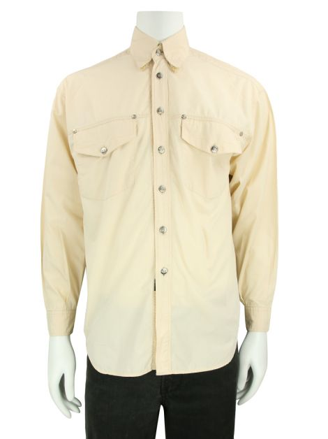 Camisa Versace Jeans Couture Sarja Nude Masculina