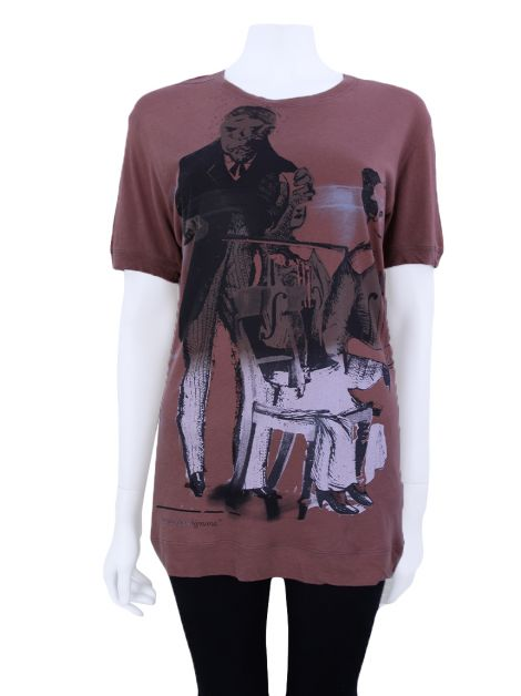 Camiseta Diesel Black Gold Vilino Terracota