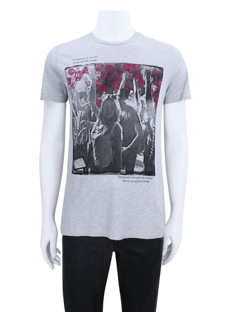 Camiseta Diesel Successful Losers Cinza Masculina