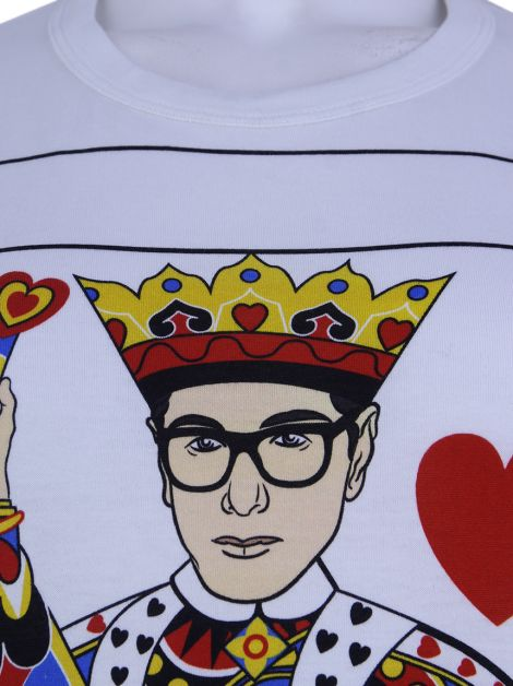 Camiseta Dolce & Gabbana Designer Kings of Heart