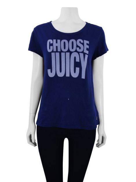 Camiseta Juicy Couture Choose Azul