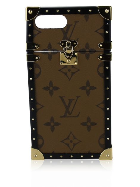 Capa iPhone 7+ Louis Vuitton Monograma Reverse