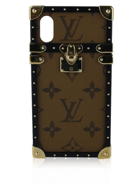 Capa iPhone X Louis Vuitton Monograma Reverse