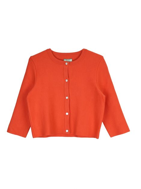 Cardigan Issa London Trico Laranja