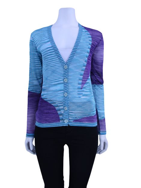 Cardigan Missoni Trico Estampado