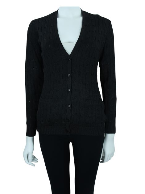 Cardigan Ralph Lauren Cable Knit Seda