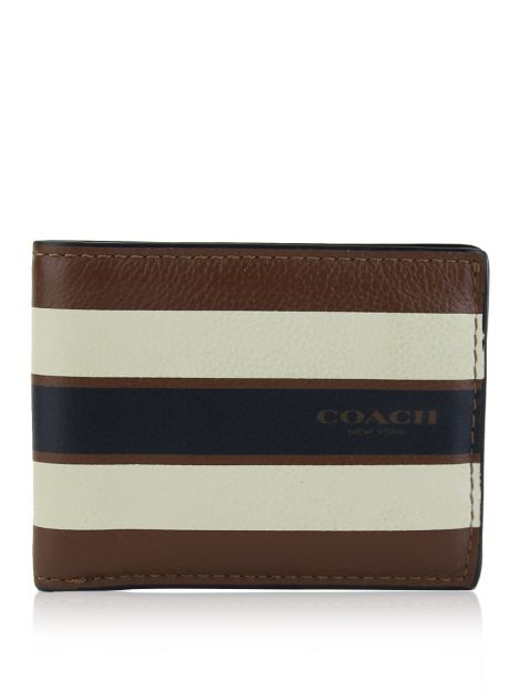 Carteira Coach Dark Saddle Listrada