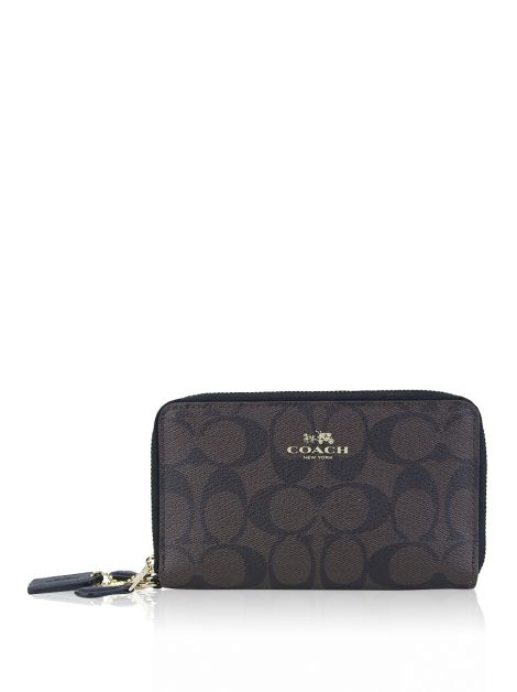 Carteira Coach Signature Canvas