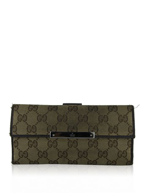 Carteira Gucci GG Canvas Continental
