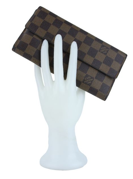 Carteira Louis Vuitton Damier Ebene Porte Tresor International Wallet