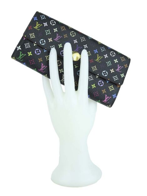 Carteira Louis Vuitton Sarah Multicolore