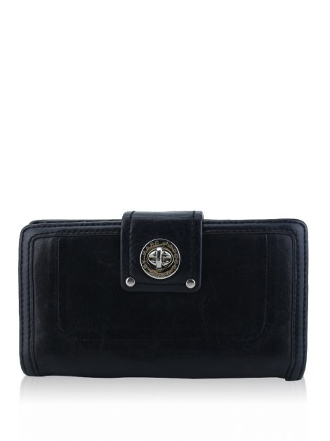 Carteira Marc By Marc Jacobs Couro Preto