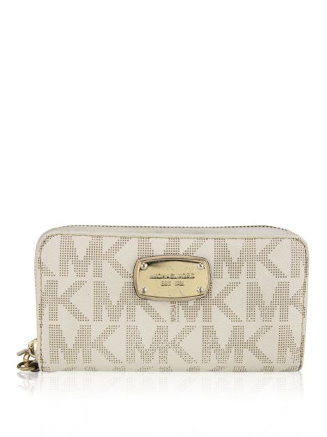 Carteira Michael Kors Canvas Monograma
