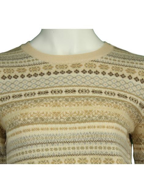 Casaco DKNY Tricot Bege