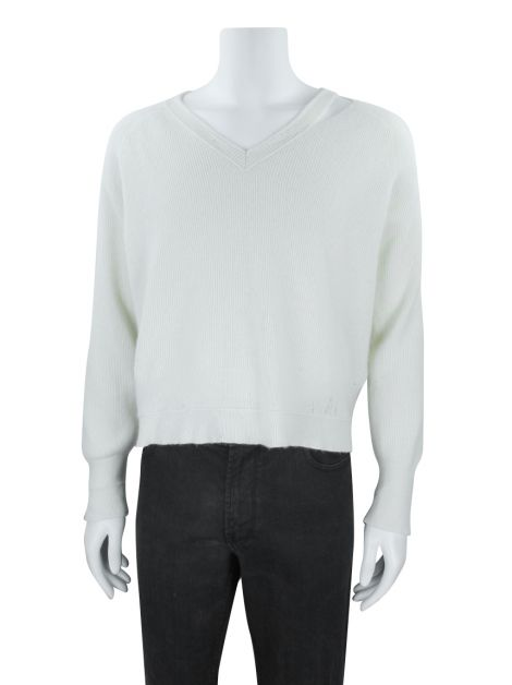 Casaco Helmut Lang Cashmere Off-White Masculino