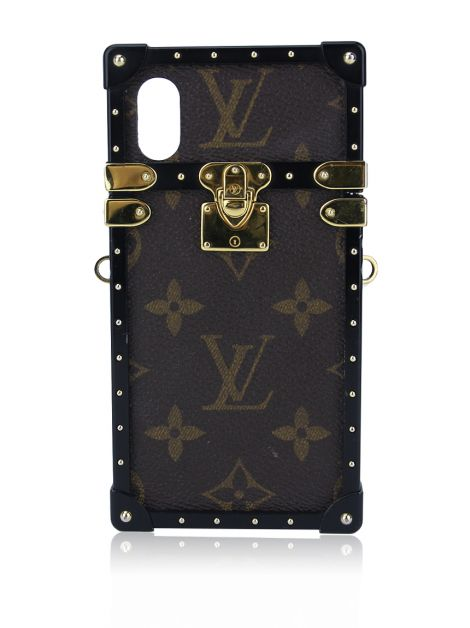 Case Louis Vuitton Eye Trunk iPhone X Monograma