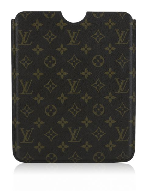 Case Louis Vuitton para IPad 2 Monogram Marrom