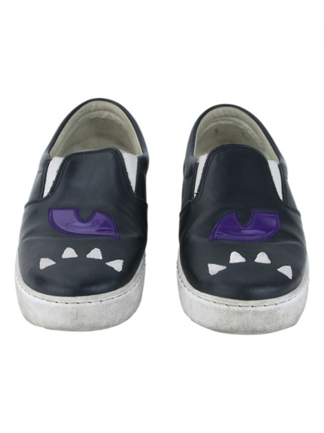 Sapato Chiara Ferragni Slip On Monster Preto