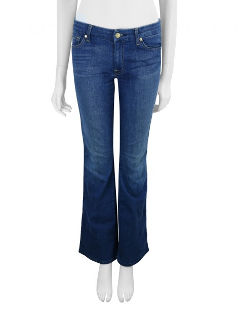 Calça Seven For All Mankind 'A' Pocket Jeans Azul