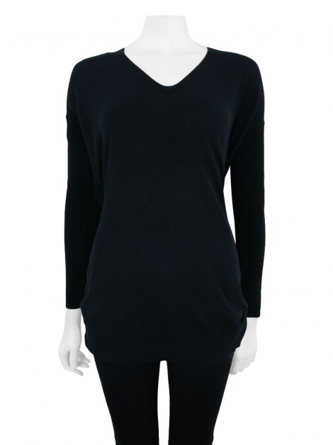 Blusa All Saints Spitalfields Twist Jumper Preto