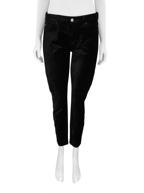 Calça Seven For All Mankind Veludo Preto