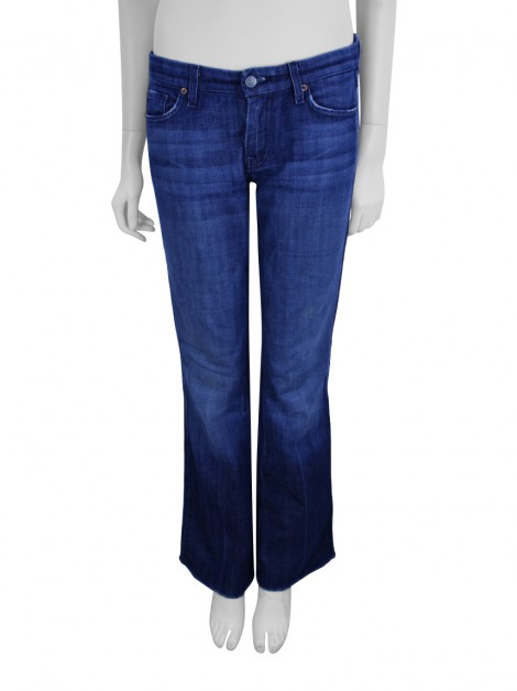 Calça Seven For All Mankind Jeans Flynt Azul