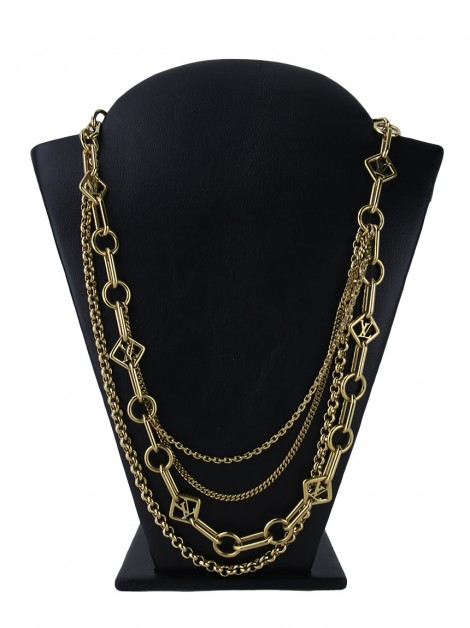 Colar Louis Vuitton Collier Vegas Dourado