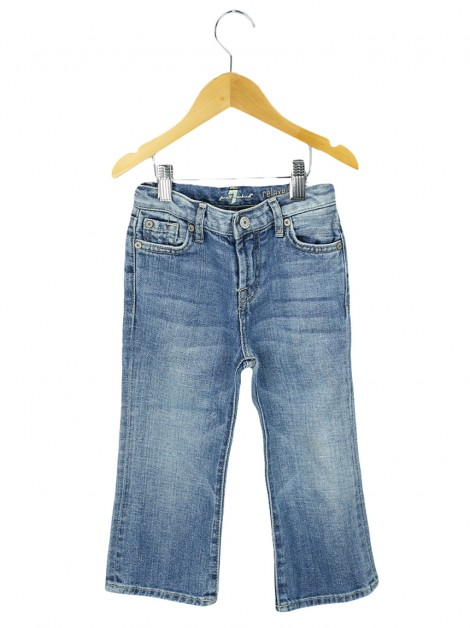 Calça Seven For All Mankind Relaxed Jeans Infantil