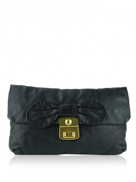 Clutch Marc By Marc Jacobs Linda Bow Preta