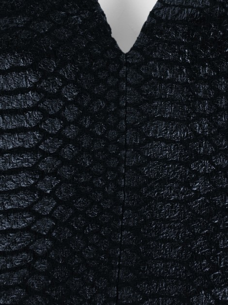Blusa Animale Croco Preto