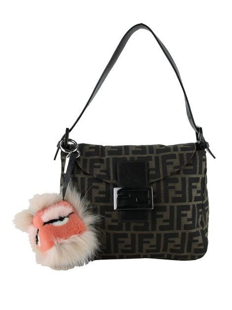 Chaveiro Fendi Bagood Monster Rosa