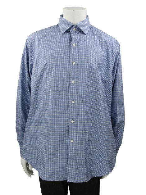 Camisa Polo By Ralph Lauren Regent Classic Fit Azul Masculina