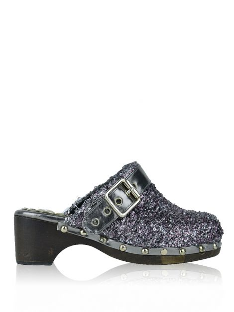 Clog Juicy Couture Metalizado Bicolor