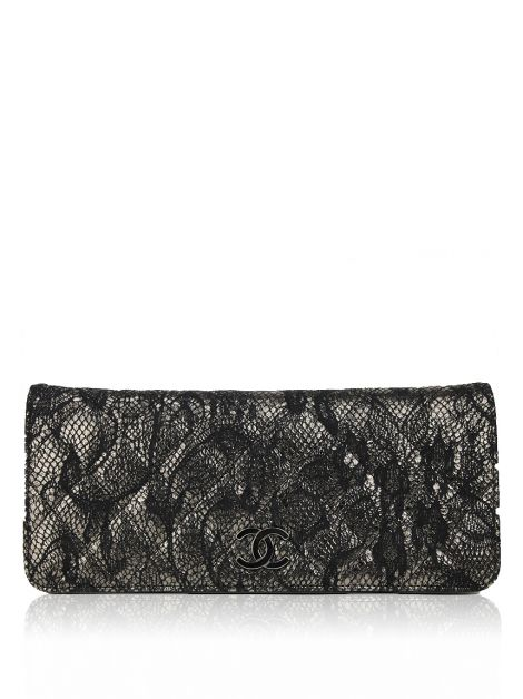 Clutch Chanel Renda Metalizada
