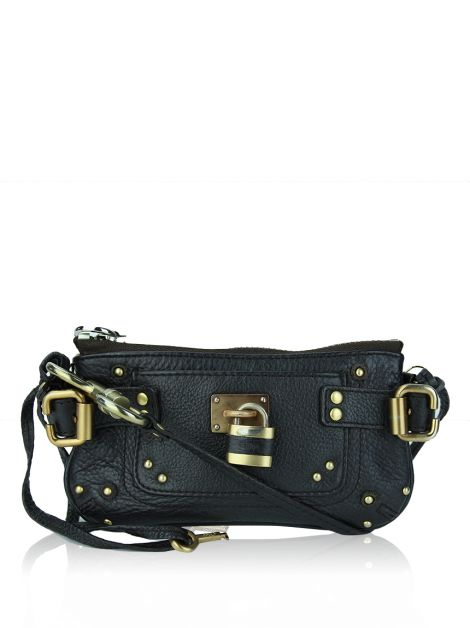 Clutch Chloé Mini Paddington Marrom
