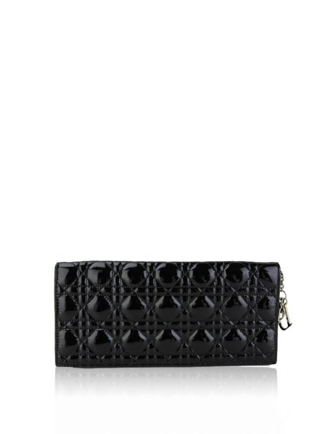 Clutch Christian Dior Lady Dior Convertible Verniz