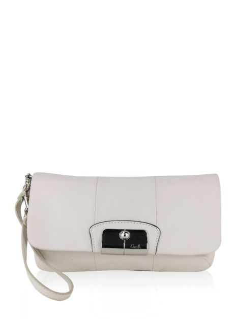 Clutch Coach Kristin Off White