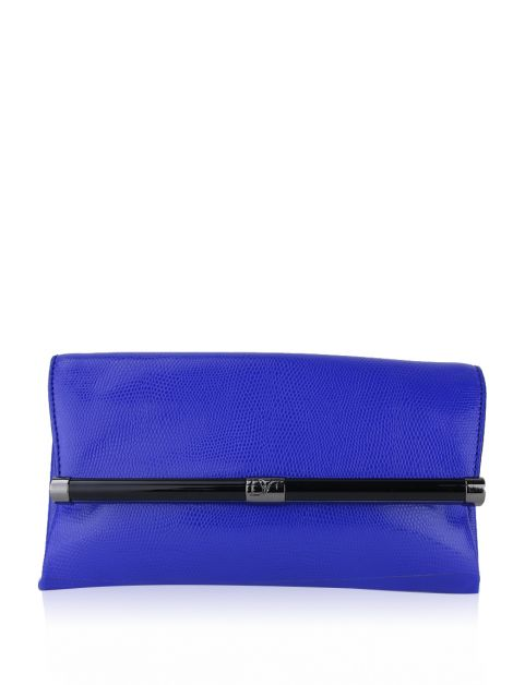 Clutch Diane Von Furstenberg Envelope Azul Royal