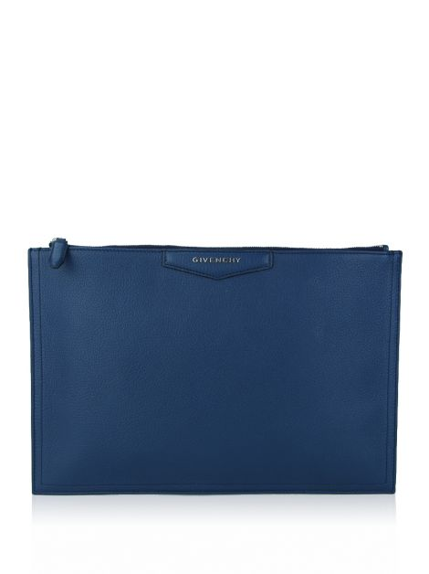 Clutch Givenchy Antigona Azul