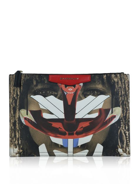Clutch Givenchy Tribal Antigona Pouch