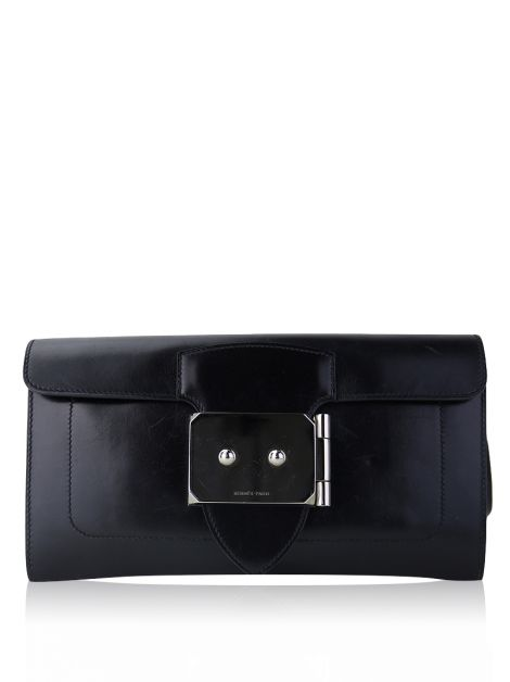 Clutch Hermès Goodlock Box Noir