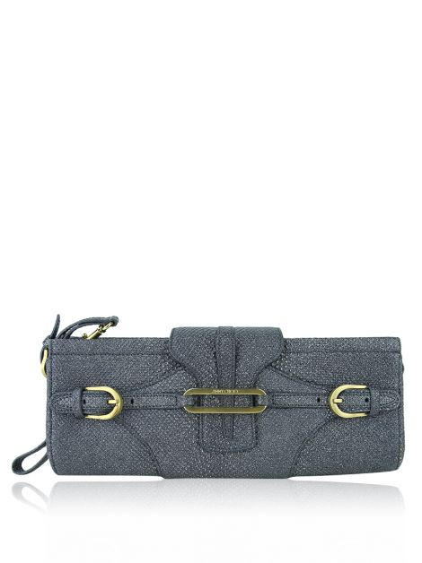Clutch Jimmy Choo Tulita Cinza