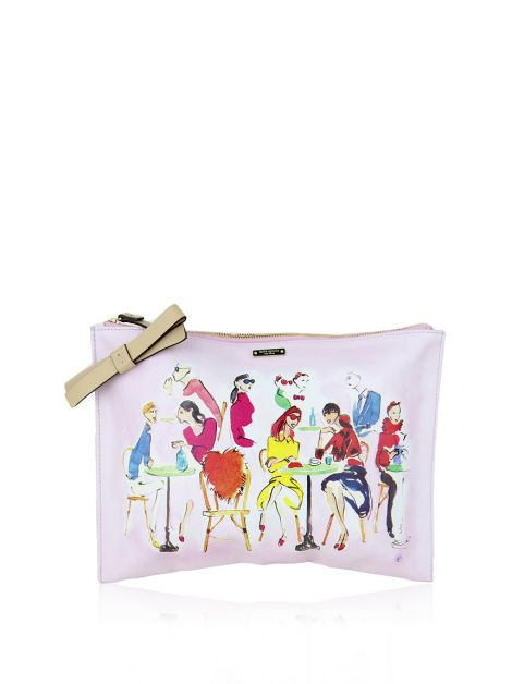Clutch Kate Spade Ooh La La Bella Pouch Cafe